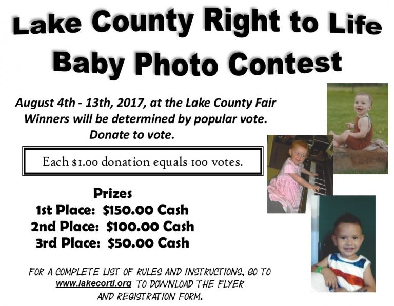 Lake County Fair and Baby Photo Contest